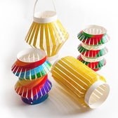 【BlueCat】兒童DIY繪畫中秋節燈籠材料包