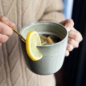 復古陶瓷馬克杯文藝日式喝水杯子懷舊咖啡杯家用男創意個性泡茶杯『新佰數位屋』