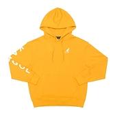 KANGOL 運動帽T 長袖 橘黃色 袋鼠刺繡 側邊字母LOGO 6055106662 noE43
