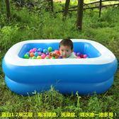 新生嬰兒游泳池家用充氣幼兒童寶寶洗澡桶加厚保溫游泳戲水池浴盆 英雄聯盟
