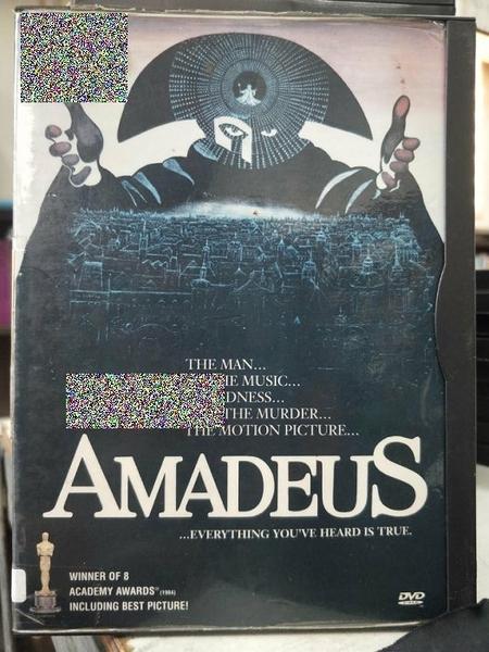 挖寶二手片-P14-263-正版DVD-電影【阿瑪迪斯】-榮獲奧斯卡最佳影片/男主角/導演(直購價)經典片