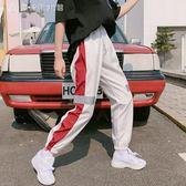 運動褲女夏寬鬆正韓學生百搭bf原宿hiphop嘻哈帥氣怪味少女褲子潮 中秋節促銷