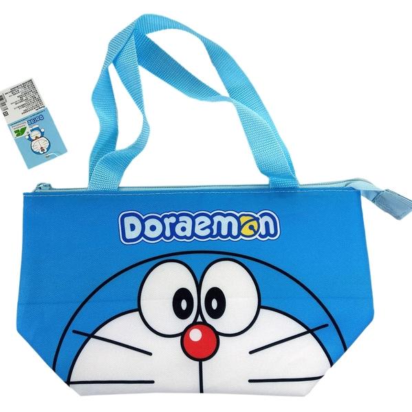 【卡漫城】 哆啦A夢 保溫袋 大臉 ㊣版 保冷袋 便當袋 手提袋 購物袋 餐袋野餐 小叮噹 Doraemon 多拉