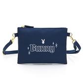PLAYBOY- 斜揹小包 BUNNY兔系列-藍色