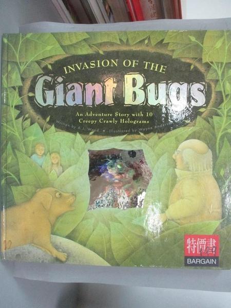 【書寶二手書T7/少年童書_PLV】Invasion of the Giant Bugs_A.J.Wood