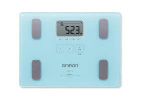 元氣健康館  OMRON歐姆龍體重體脂計 HBF-212/藍色