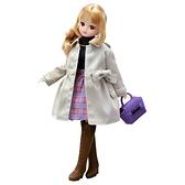 《 LICCA莉卡娃娃 》LW-17 都會甜心風衣服裝組 / JOYBUS玩具百貨