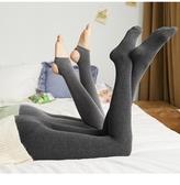 快速出貨 唐獅秋冬季 打底褲女連褲踩腳襪瘦腿緊身中厚彈力黑色灰色