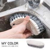 刷子 洗衣刷 洗鞋刷 地板刷 瓷磚刷 無死角 衣領 居家 洗衣服 去汙 可彎曲清潔刷【L157】MY COLOR