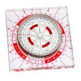 羅盤 仙緣居開光自動純銅香港羅盤綜合盤指南針東定風水專業銅羅盤 城市科技