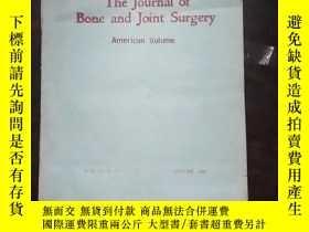 二手書博民逛書店the罕見journal of bone and joint s