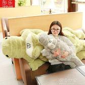鱷魚公仔毛絨玩具睡覺抱枕長條枕女孩布娃娃玩偶可愛女生生日禮物『潮流世家』