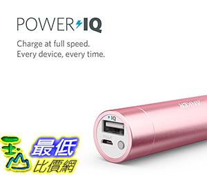 [106美國直購] Anker mini 3350mAh Lipstick-Sized Portable Charger(Premium Aluminum Power Pink)便攜式充電器