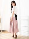 春夏7折[H2O]多片剪接設計輕柔飄逸大波浪長裙 - 藍/黑/粉色 #0672003