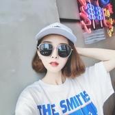 墨鏡 韓版橢圓框太陽鏡女網紅新款大框復古原宿街拍潮 - 歐美韓熱銷