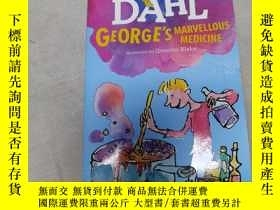 二手書博民逛書店roald罕見dahl george s marvellous medicine Y290224 quenti