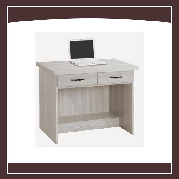 【多瓦娜】白雪杉3尺二抽書桌 21050-455248966