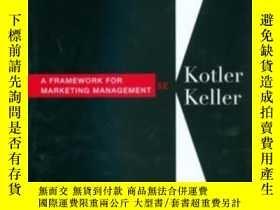 二手書博民逛書店Framework罕見For Marketing Managem