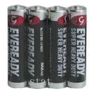 【奇奇文具】永備 黑金剛 電池  永備黑金鋼/永備黑貓碳梓電池 AAA NO.4號電池 (4入/封-收縮膜)