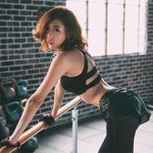 鏤空高強度防震運動瑜伽美背內衣女健身胸衣跑步文胸背心聚攏bra