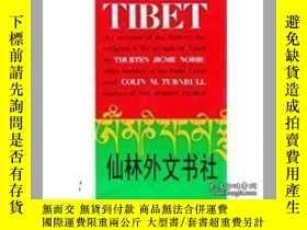 二手書博民逛書店【罕見】1968年 Tibet an Account of th