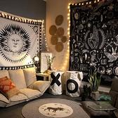 個性民宿掛布民族風背景布ins房間裝飾墻布掛毯【步行者戶外生活館】