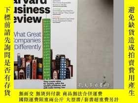二手書博民逛書店Harvard罕見Business Review (Novemb