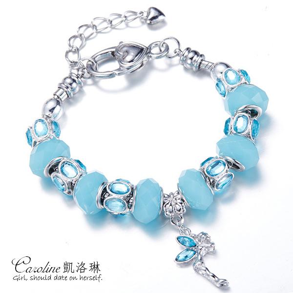 《Caroline》★【善緣】潘朵拉琉璃珠.優雅時尚品味典雅設計手鍊68756