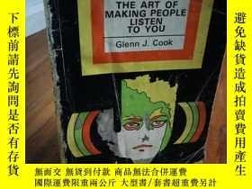 二手書博民逛書店THE罕見ART OF MAKING PEOPLE LISTEN
