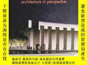 二手書博民逛書店aip12罕見architecture in perspective 架構透視圖Y6515 he Americ