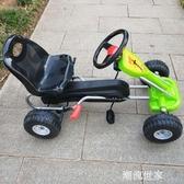 兒童四輪腳踏卡丁車可坐男女寶寶益智健身運動玩具自行賽車2至6歲MBS『潮流世家』