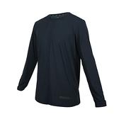 FIRESTAR 男彈性圓領長袖T恤(反光 涼感 運動 上衣 慢跑 路跑≡體院≡ D0605-98
