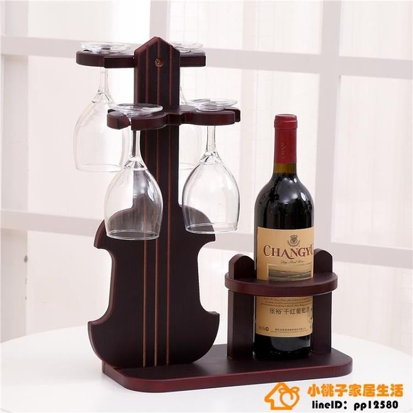 創意紅酒架紅酒杯架高腳杯架倒掛酒杯架擺件家用超級品牌【桃子居家】