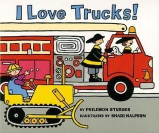 【麥克書店】I LOVE TRUCKS!  /英文繪本