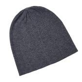 羊毛毛帽-純色百搭休閒秋冬男針織帽6色73wj1[時尚巴黎]