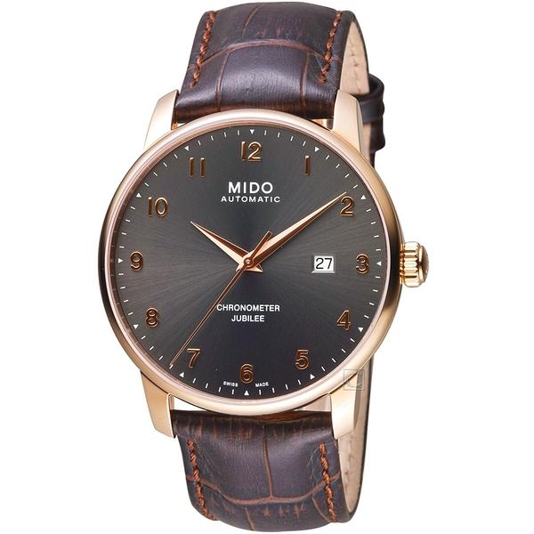 MIDO美度BARONCELLI JUBILEE天文台經典機械錶    M0376083606200