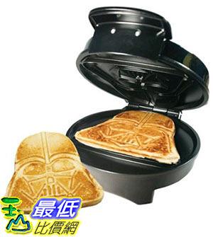 [美國直購] Pangea Brands WM-SRW-RD-VAD-B 星際大戰 黑武士 鬆餅機 Darth Vader Waffle Maker