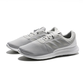 ADIDAS 慢跑鞋 CORERACER 灰 網布 綁帶 運動 女 (布魯克林) FX3614