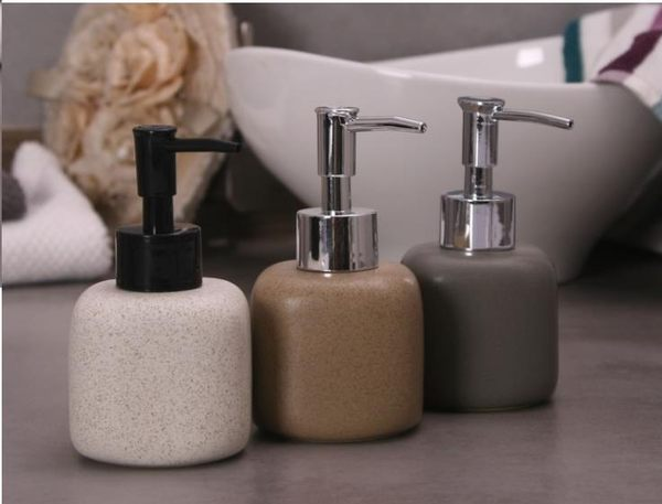 【春季上新】 陶瓷乳液分裝按壓空瓶 家居酒店洗發水沐浴露洗手液 小容量180ML