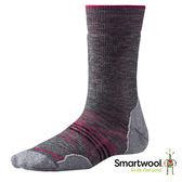 Smartwool 女PhD戶外中級減震中長襪『中性灰』SW001064 美國製|保暖襪|登山襪|運動襪