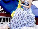 ◇方妮FaNi◇韓國韓版【平口雪紡變形蟲長洋裝長裙】低胸背心沙灘可內搭褲襪蕾絲罩衫