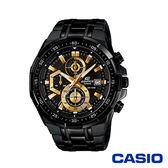 CASIO卡西歐 極限運動三眼計時男腕錶-黑x49mm  EFR-539BK-1A