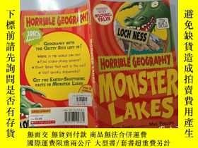 二手書博民逛書店Monster罕見Lakes (Horrible Geography):怪獸湖(可怕的地理)Y200392