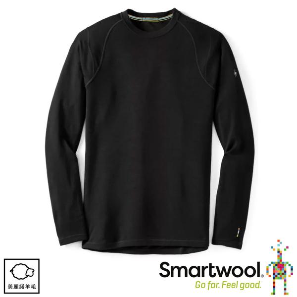 【SmartWool 美國 男 NTS 250長袖衫《黑色》】SW0NP600/保暖長袖/內層/衛生衣