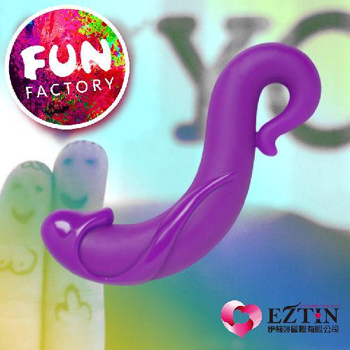 【送好禮】德國 FUN FACTORY STUBS CURVE 柯芙波浪 紫 時尚創意海馬型G點棒
