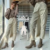 LULUS-L雙釦內磨毛牛仔褲S-L-3色  【04190278】