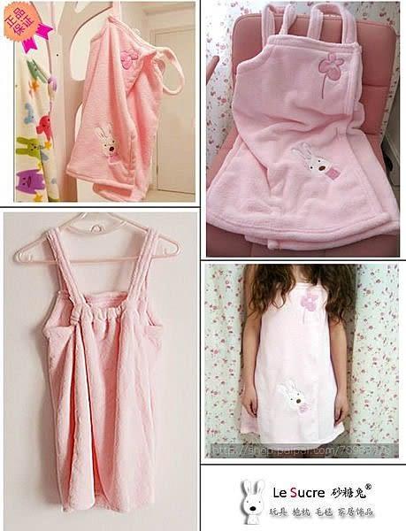 【發現。好貨】『少女必備款』砂糖兔le sucre 法國兔超柔軟珊瑚絨 睡袍 浴袍 可當睡衣