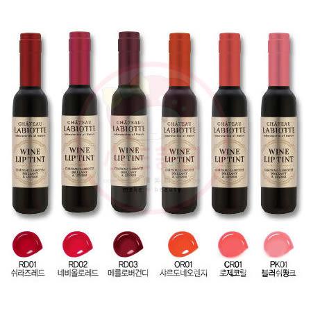 韓國 LABIOTTE 紅酒/葡萄酒醇果染色唇露(7g) 6款可選【小三美日】