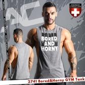 美國Andrew Christian 2741 Bored & Horny 健身風格大開口背心