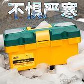 工具箱 五金家用塑料大號小中號手提式電工多功能維修車載盒收納箱工具箱 第六空間 igo